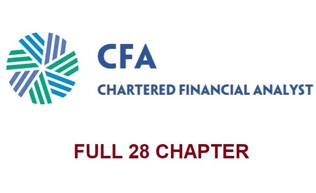 CFA lv1 - Full 28 chapter with Key